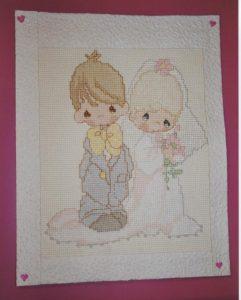carte pour le mariage de Dom et Stéphanie