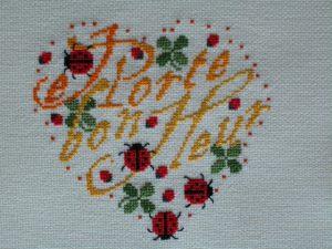 version en fil dégradé pour Christine - Noël 2004